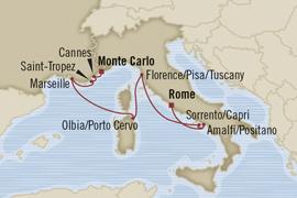 oceania monte carlo rome riviera cruise