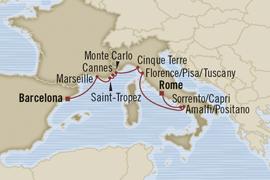 oceania rome barcelona cruise