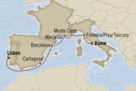 oceania rome lisbon cruise