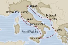 oceania rome venice cruise