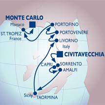 azamara rome monaco luxury cruise