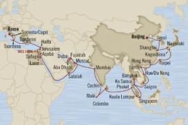 oceania cruises beijing to rome