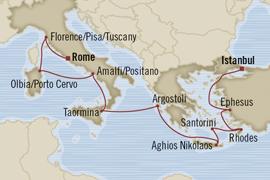 oceania istanbul rome cruise