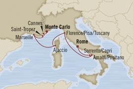 oceania rome monte carlo cruise